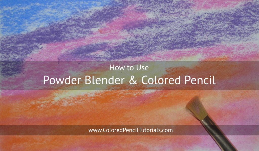 Powder Blender and Colored Pencils