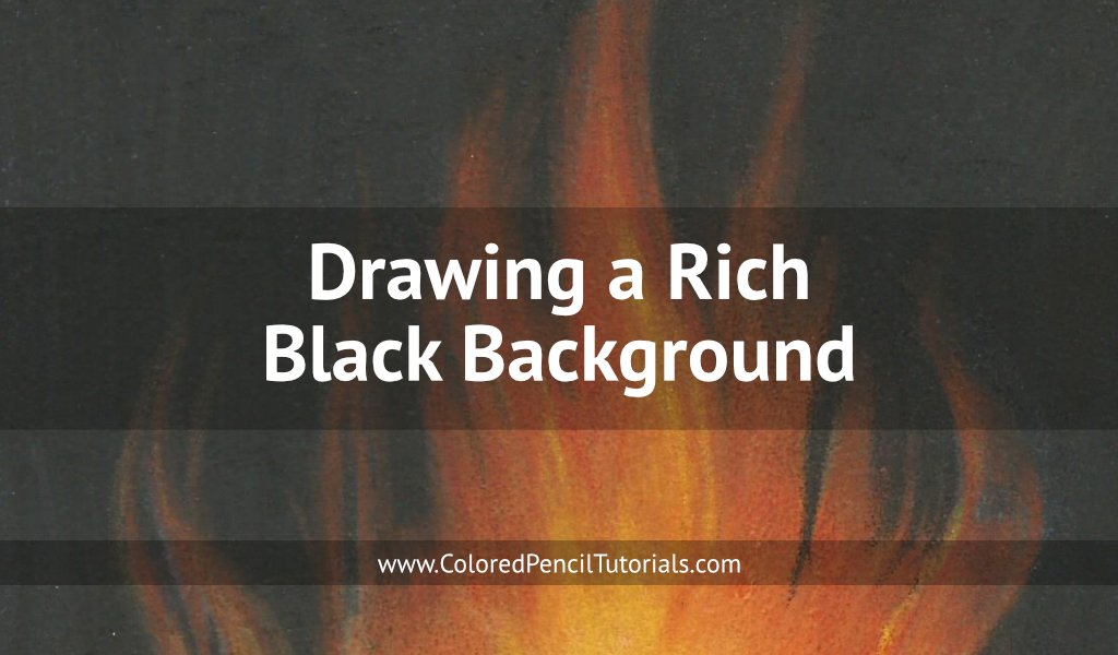 Drawing a Rich Black Background